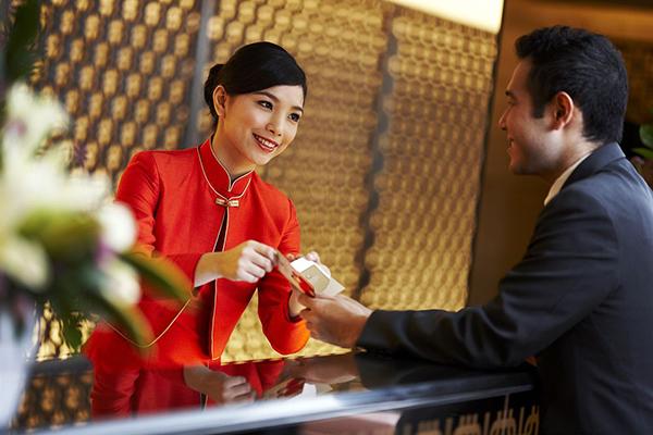 Nhân viên luôn có một thái độ niềm nở với khách