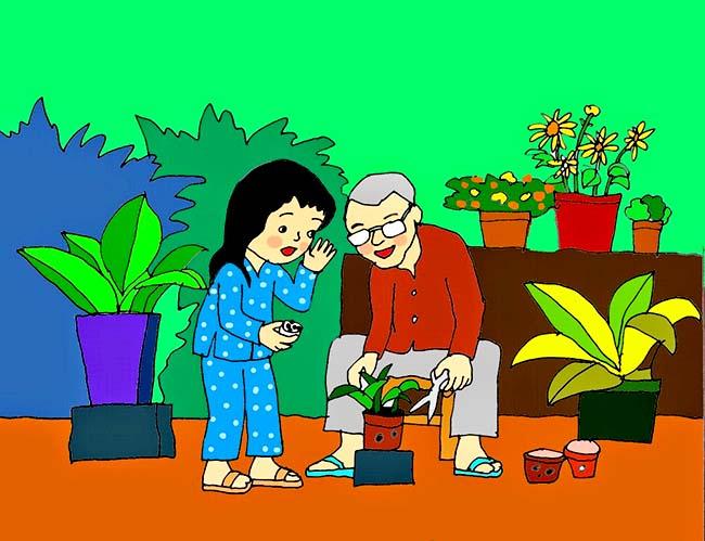 Vẽ tranh bảo vệ môi trường đơn giản