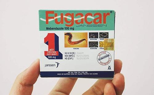 Thuốc Fugacar và điều cần biết về thuốc tẩy giun Fugacar