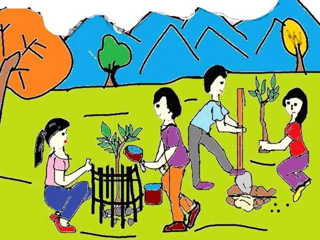 Vẽ tranh đề tài bảo vệ môi trường đẹp nhất
