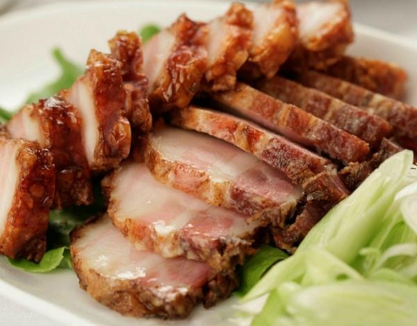 Thịt lợn ướp ngũ vị hương rán giòn